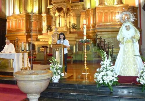 Eucaristía De Mayo En Honor A La Virgen