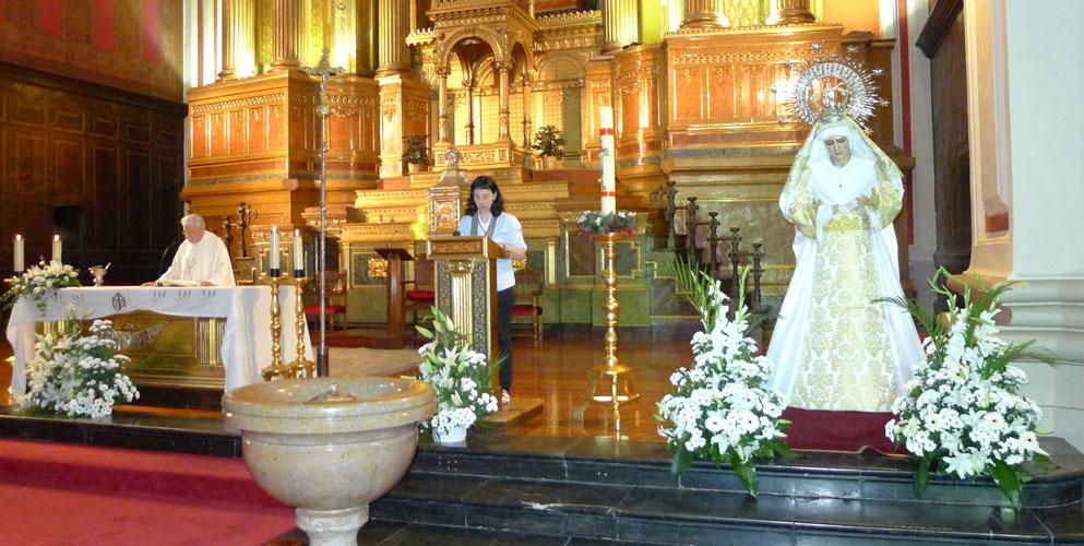 Cofradia Columna – Misa Virgen De Mayo 2011