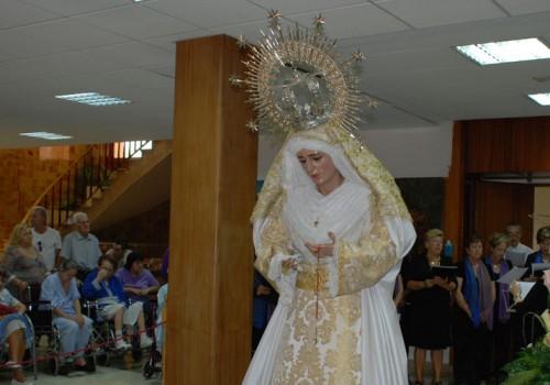 Visita De La Virgen A Los Enfermos Del Hospital San Juan De Dios