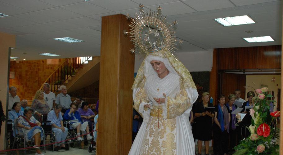 Cofradia Columna – Visita Virgen San Juan De Dios