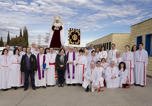 Visita De La Virgen De Nª Sª De La Fraternidad A La Cárcel De Daroca