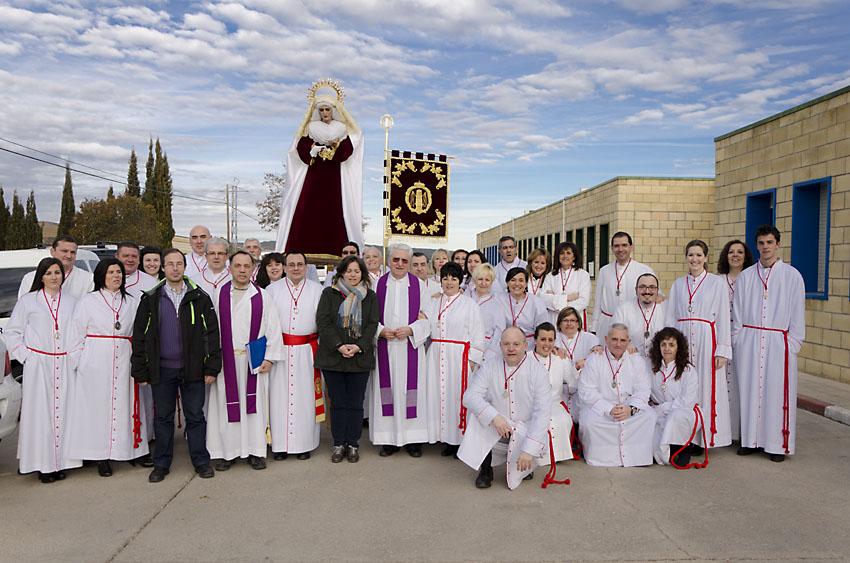 Cofradia Columna Zaragoza – Visita Carcel De Daroca 1