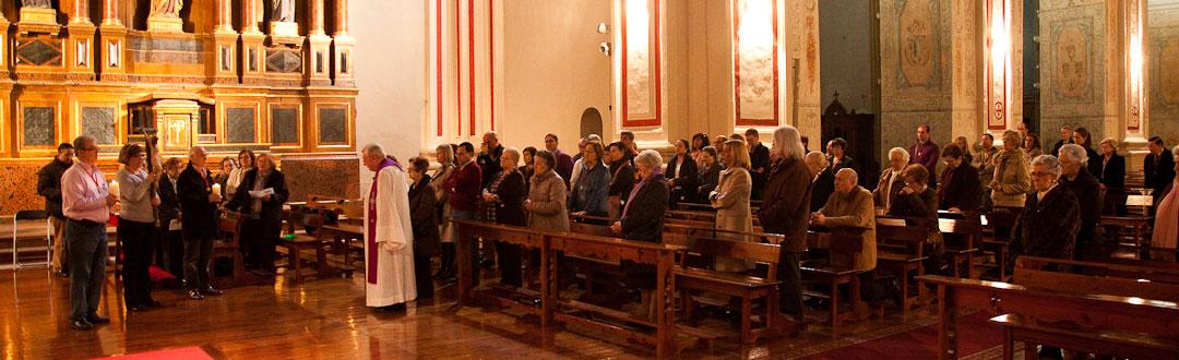Cofradia Columna Zaragoza – Via Crucis Parroquia 3