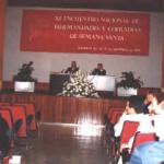 Aspecto del salón de actos donde se desarrollaron las ponencias