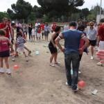 A pinchar los globos del equipo contrario
