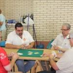 Campeonato de guiñote, que se alargó más de la cuenta por la profesionalidad de los participantes.