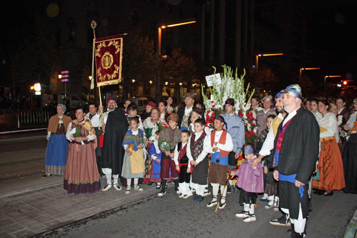 Cofradia Columna Zaragoza – 2012 Ofrenda 9