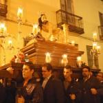 Jesús Ruiz, vocal de atributos, también fue porteador en la procesión extraordinaria