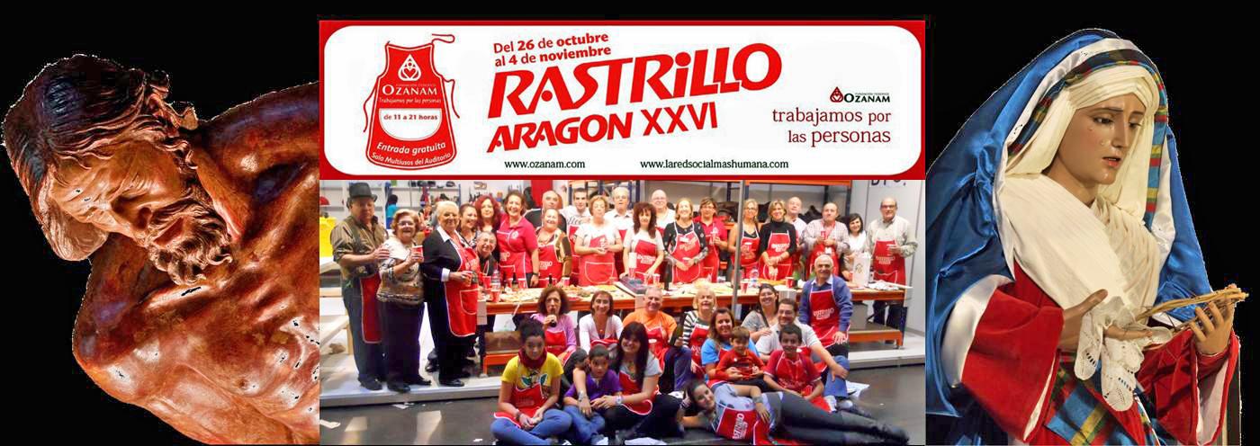 Cofradia Columna Zaragoza – XXVI RASTRILLO ARAGON COFRADIA