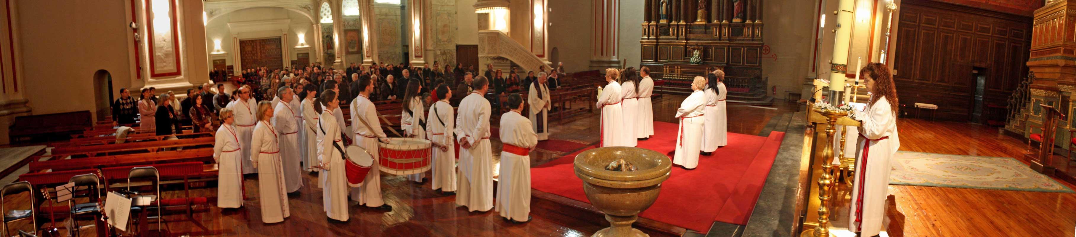 Cofradía Columna Zaragoza – Via Crucis 2013 0