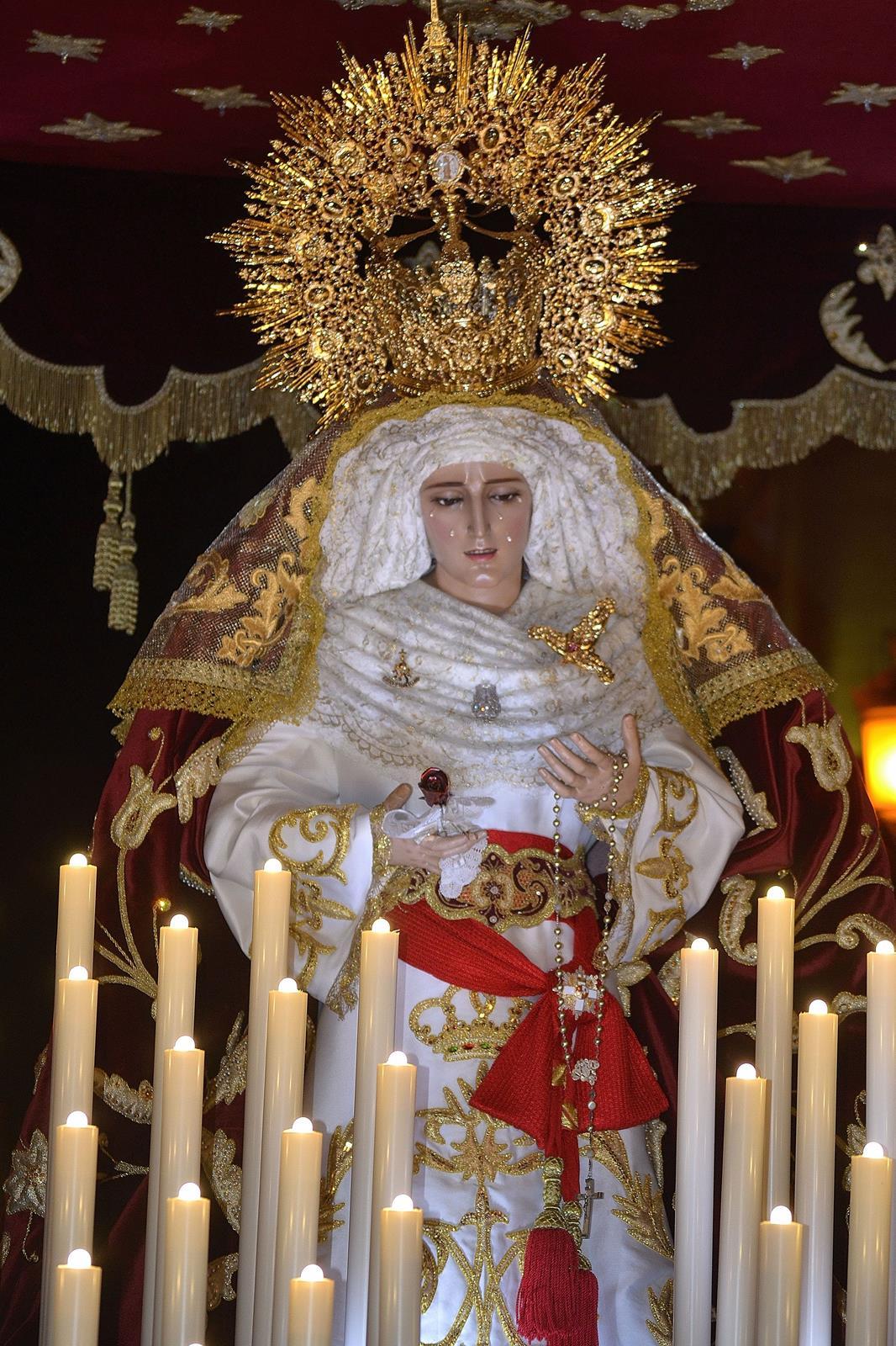 Cofradia Columna Zaragoza – N.S. De La Fraternidad En El Mayor Dolor 2013