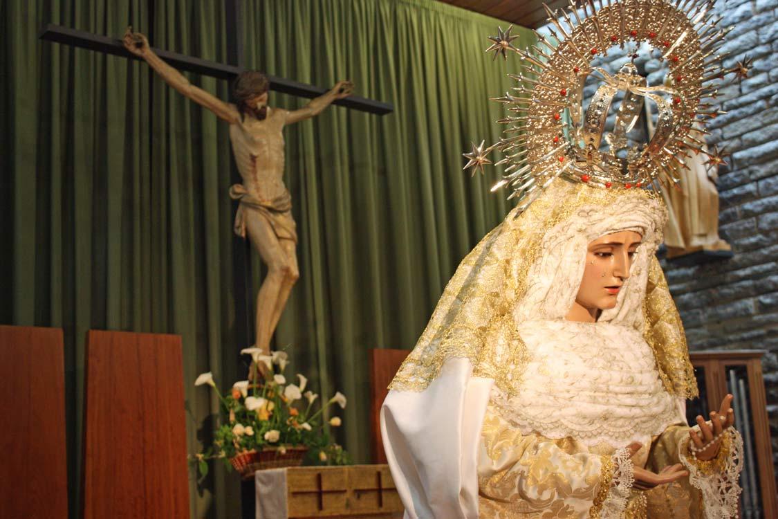 Cofradia Columna Zaragoza – Visperas Mayo 2013 0