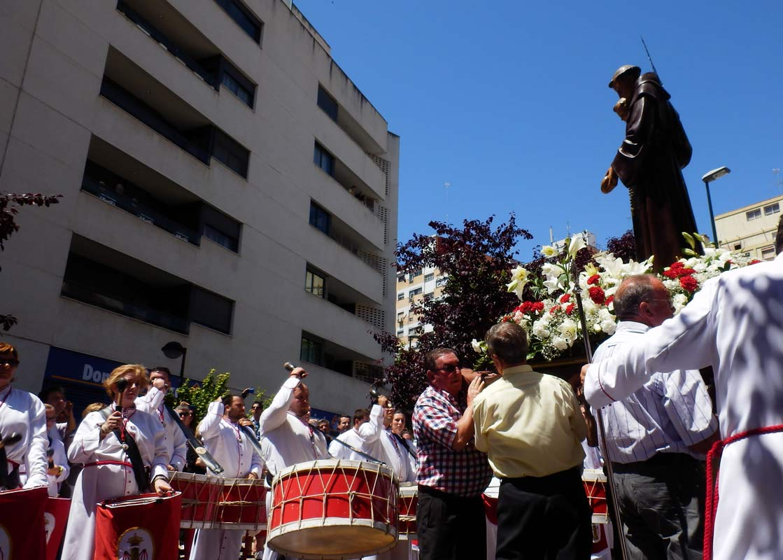 Cofradia Columna Zaragoza – Procesión De San Antonio 2013 (19)