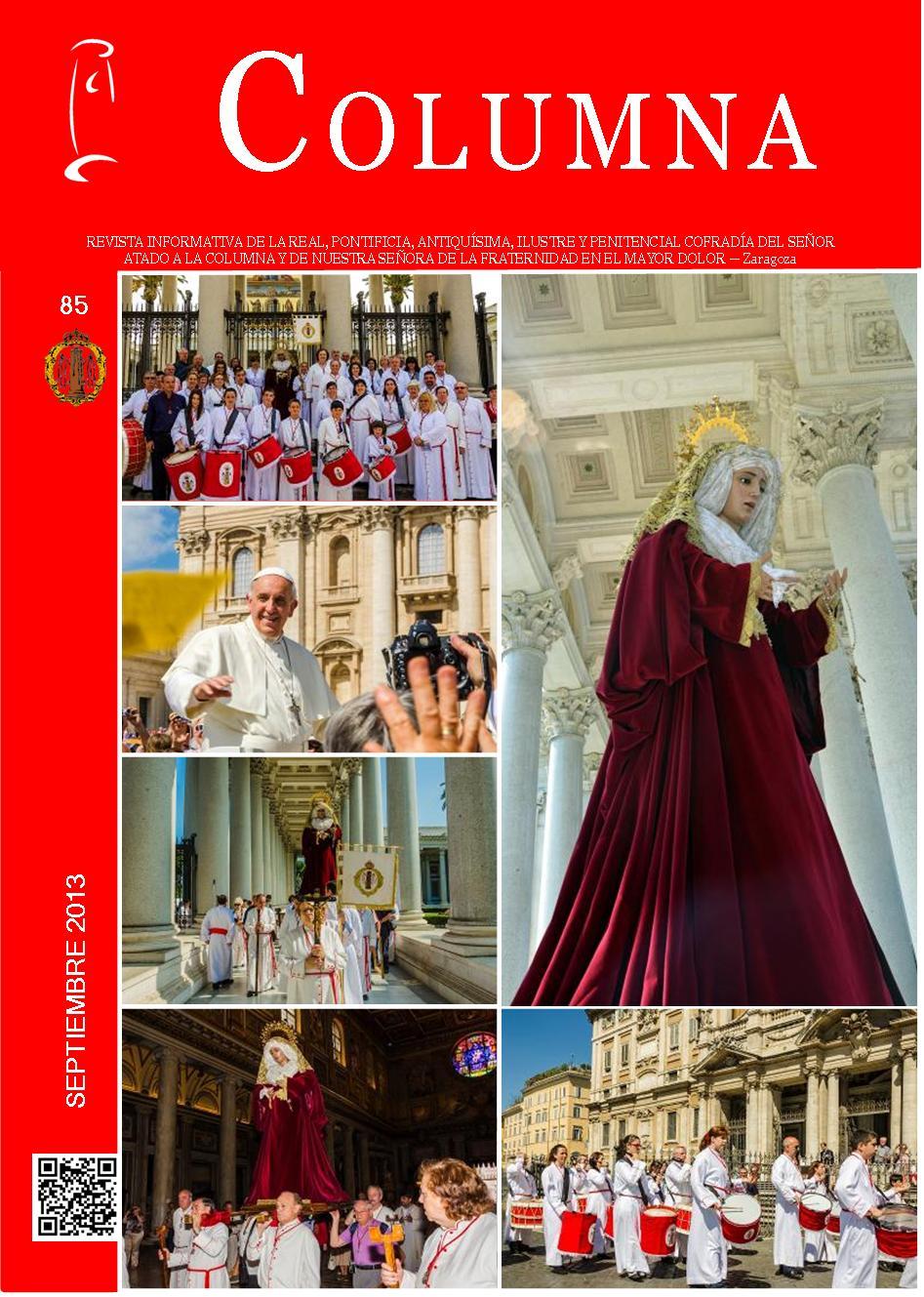 Cofradia Columna Zaragoza – Revista Columna 85
