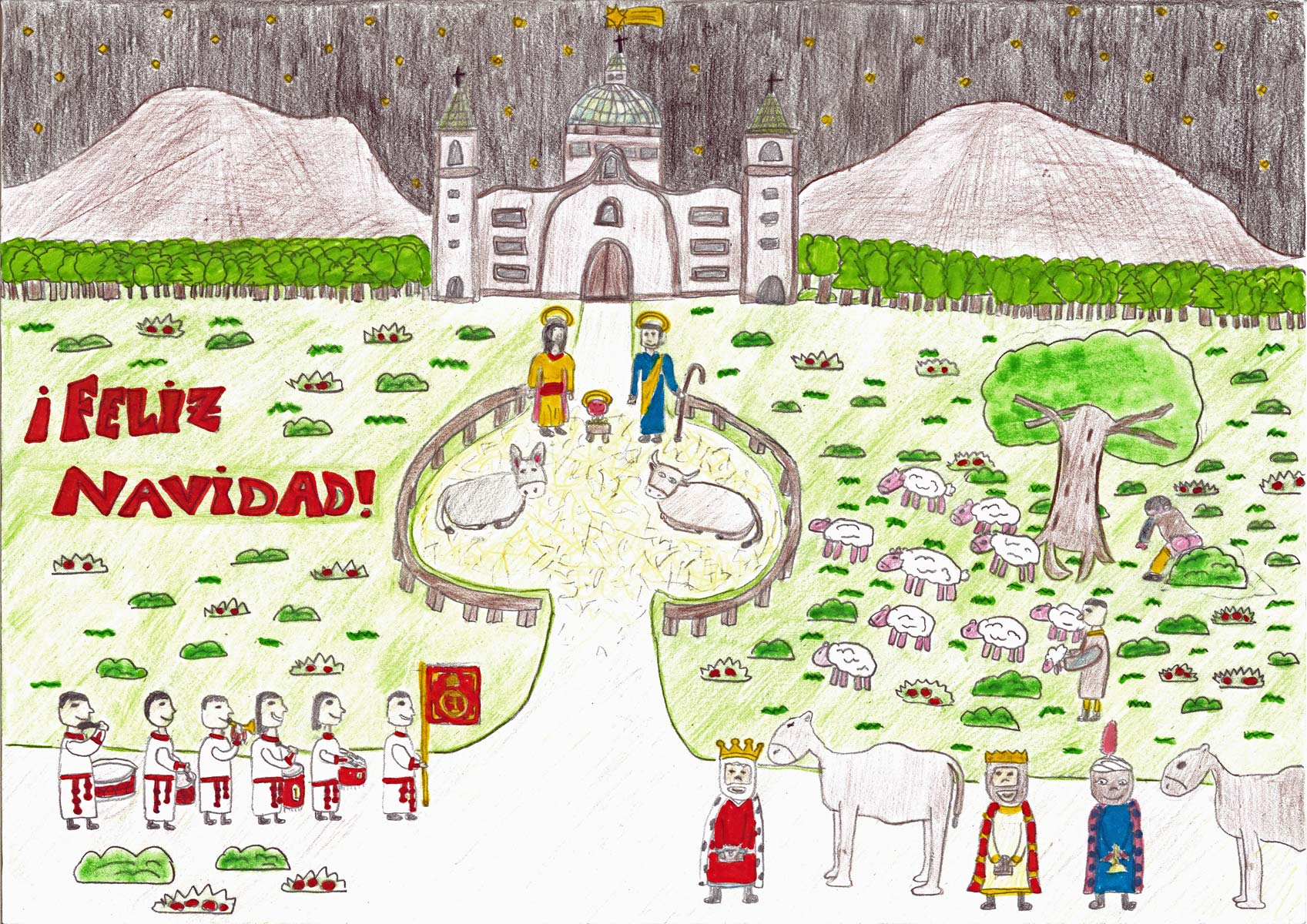 Cofradía Columna Zaragoza – Concurso Infantil De Dibujo 2013 – 00015