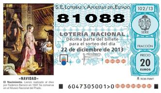 Cofradía Columna Zaragoza – Loteria 2013