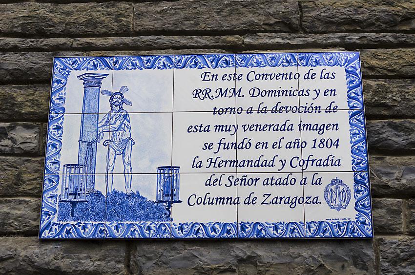 Cofradia Columna Zaragoza – Bendicion Cerámicas Dominicas 2014 (0)