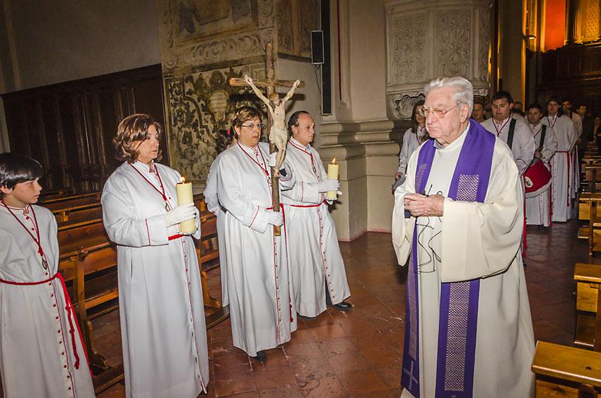 Cofradia Columna Zaragoza – Vía Crucis Santiago 2014 (0)