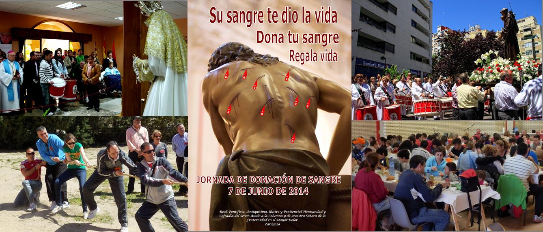 Cofradia Columna Zgz – Actividades Junio 2014
