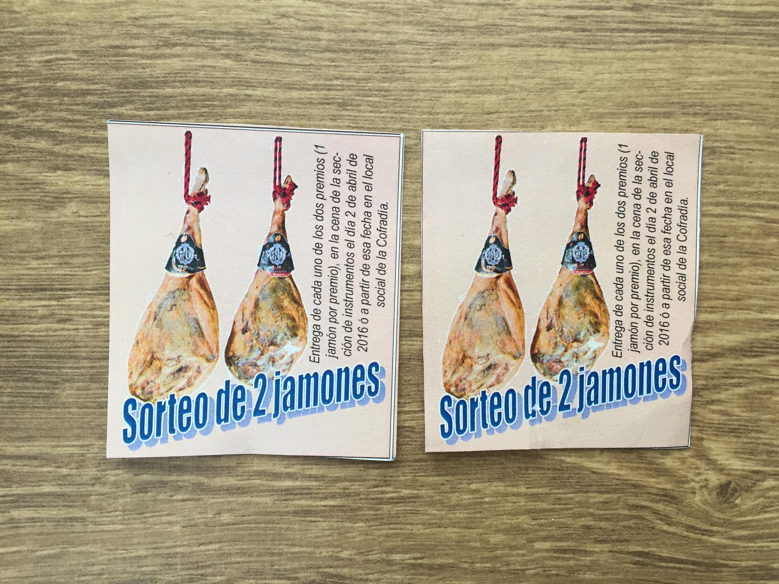 Sorteo Jamones 2016