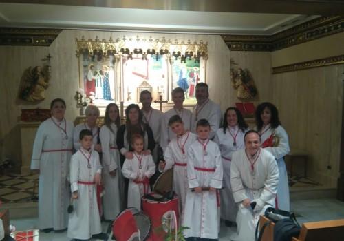 Vía Crucis En La Residencia De Ancianos Reino De Aragón