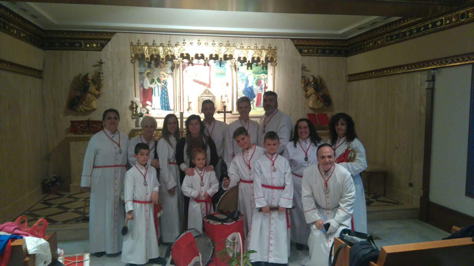 Via Crucis Residencia Reino Aragon2 2016