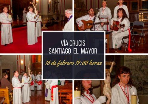 Vía Crucis Parroquia De Santiago 2018