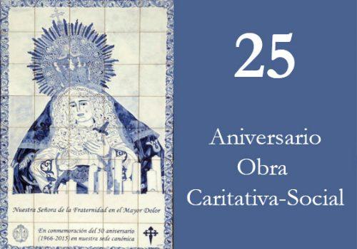 Acto Conmemorativo Del 25 Aniversario De La Obra-Caritativa-Social