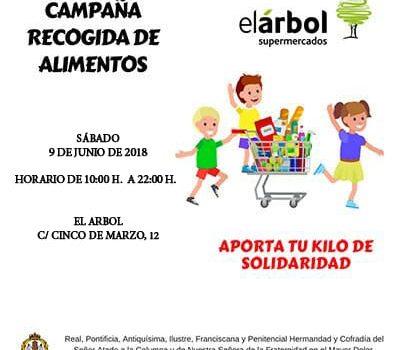 Recogida De Alimentos En Supermercado El Árbol