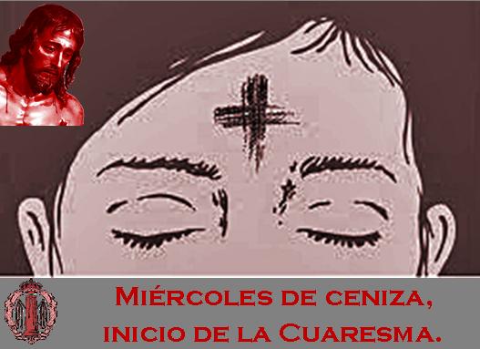 HOY 5 De Marzo, Es MIEROLES DE CENIZA