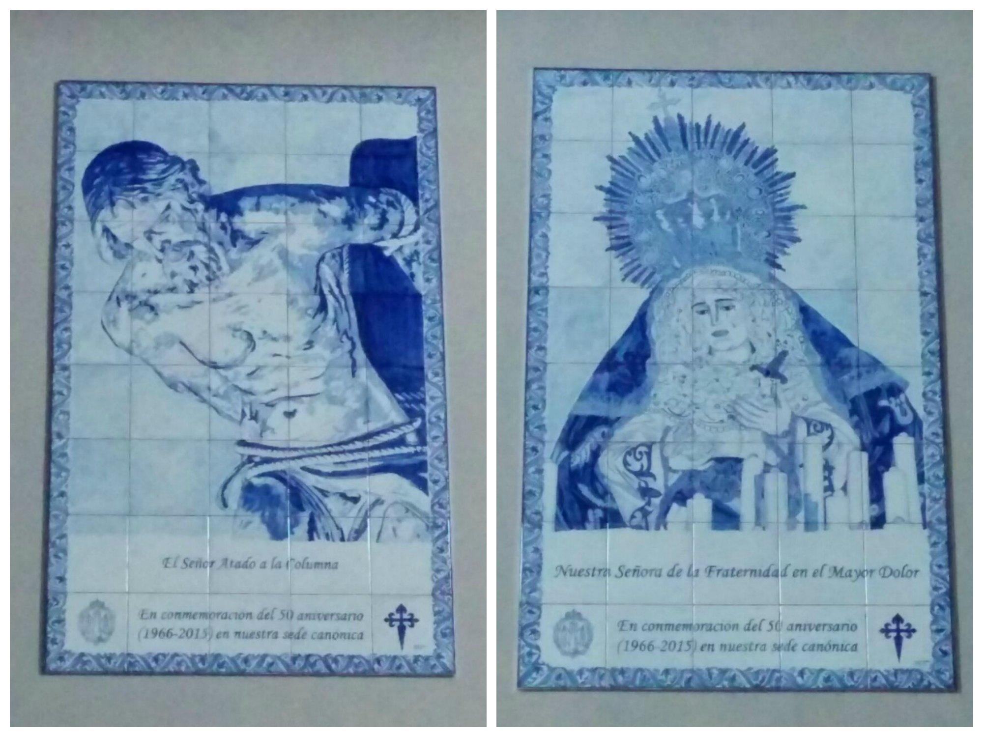 Ya Lucen En Santiago Los Murales Cerámicos Conmemorativas Del 50 Aniversario