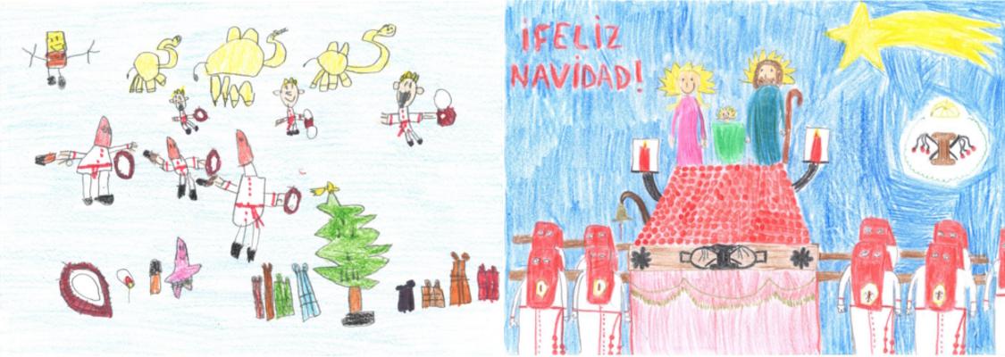 II Concurso De Dibujo Navideño Infantil