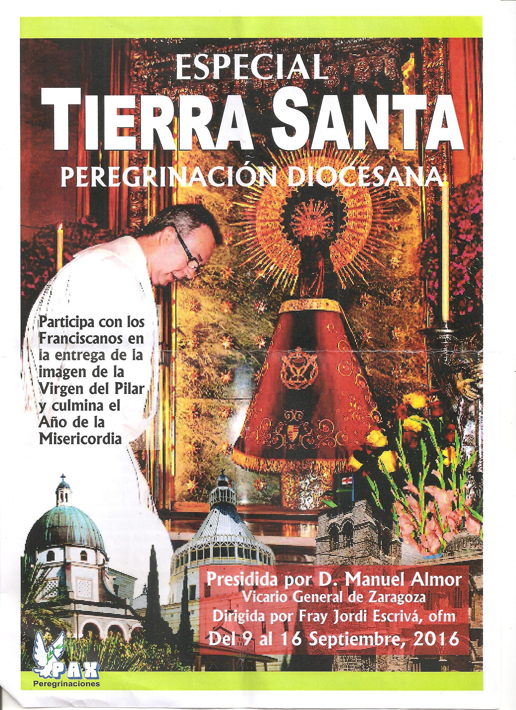 Peregrinación A Tierra Santa Con Los Franciscanos
