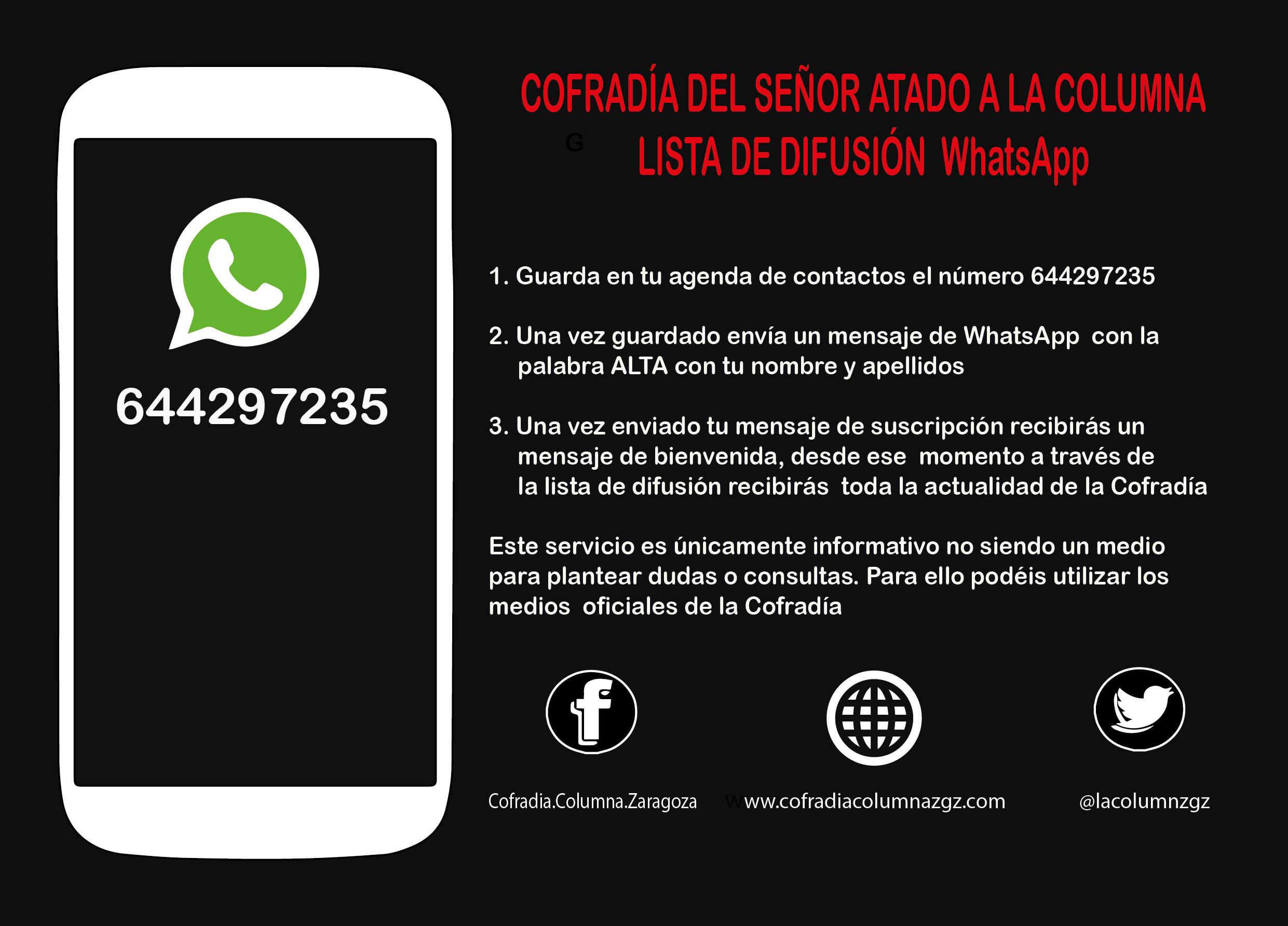 La Columna Te Informa A Través De WhatsApp