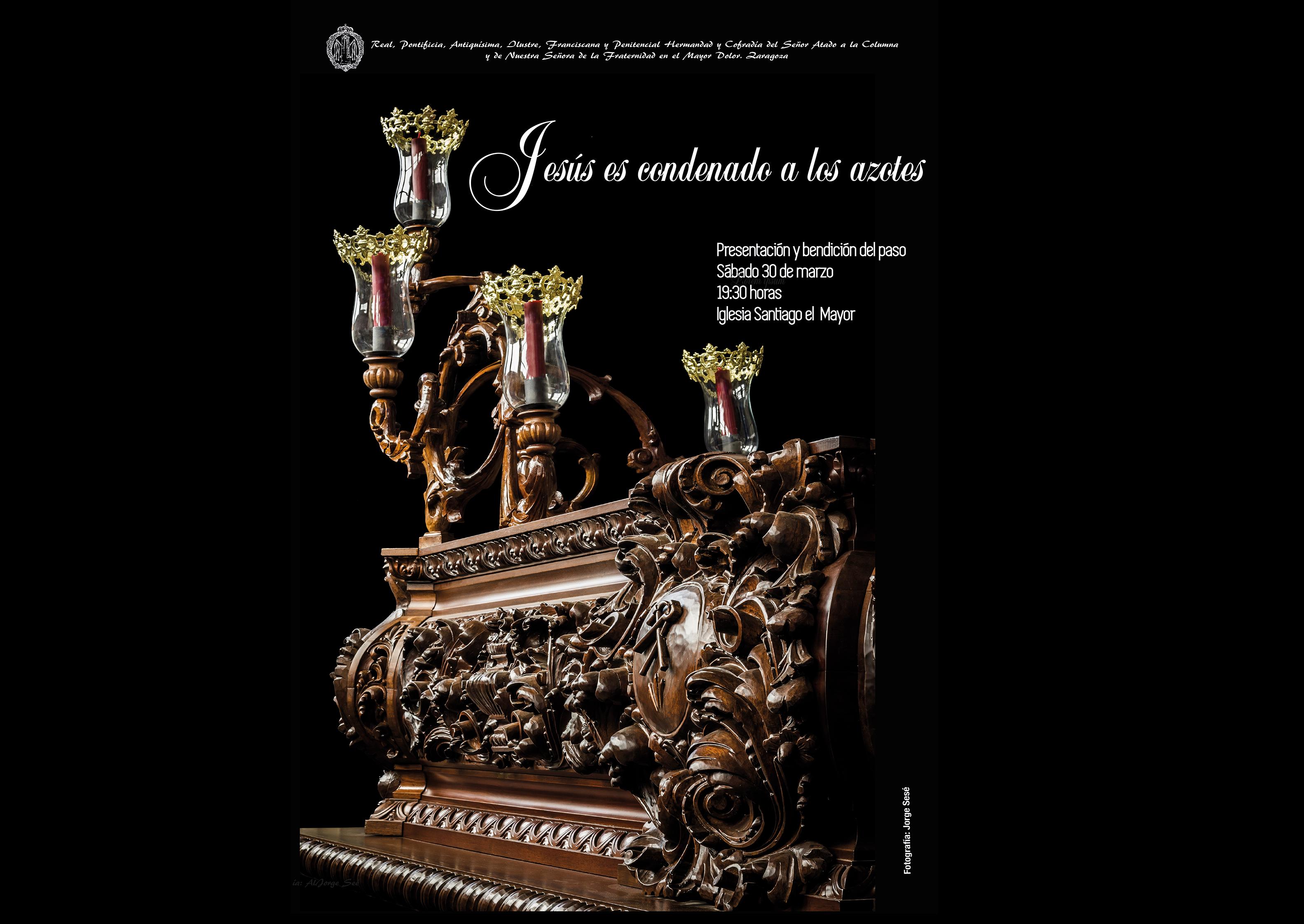 """Presentación Del Paso """"Jesús Es Condenado A Los Azotes"""""""