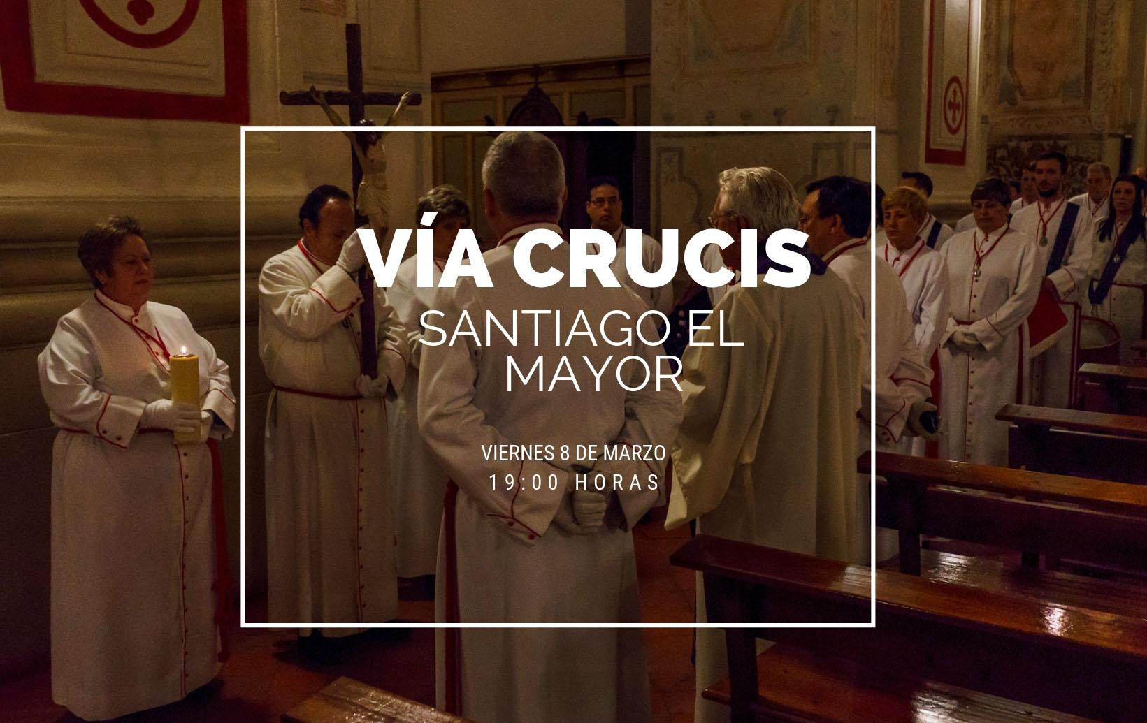 Vía Crucis Parroquia De Santiago 2019